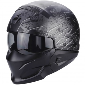 Casque Transformable Scorpion Exo Combat Ratnik Matt Black