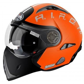 Casque Transformable Airoh J106 Smoke Orange