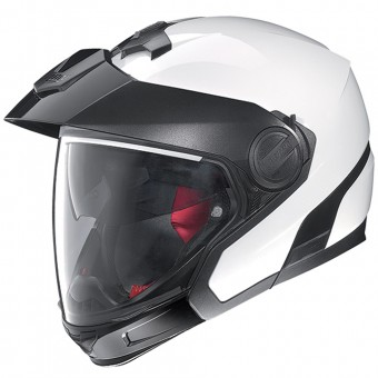Casque Transformable Nolan N40 Full Special Plus N-Com Pure White 33