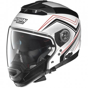 Casque Transformable Nolan N44 Evo Como N-Com White 34