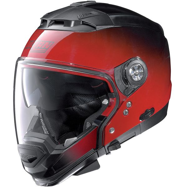 Casque Transformable Nolan N44 Evo Fade N-Com Cherry 43