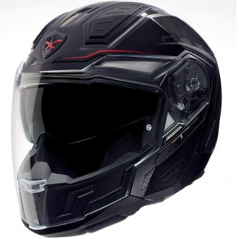 Casque Transformable Nexx X40 Carbon Hyperthech Noir
