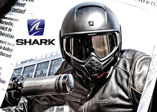 shark casque shark pour moto et scooter icasque. Black Bedroom Furniture Sets. Home Design Ideas