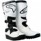 Bottes Cross Alpinestars No Stop Trial Blanc