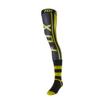 Chaussettes Cross FOX Knee Brace - Preest Dark Yellow