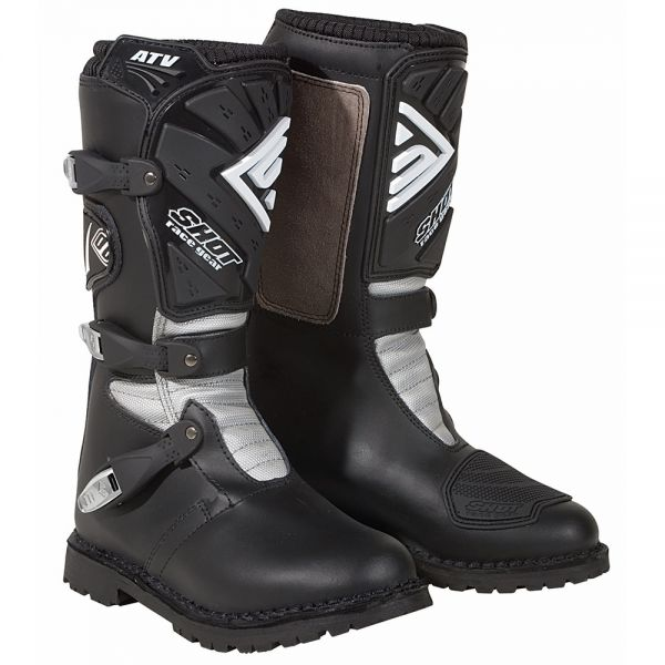 Bottes Cross SHOT ATV Quad Black Boots