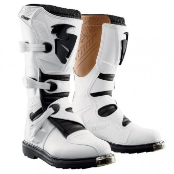 Bottes Cross Thor Blitz MX White