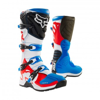 Bottes Cross FOX Comp 5 Blue Red
