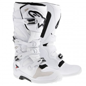 Bottes Cross Alpinestars TECH 7 White