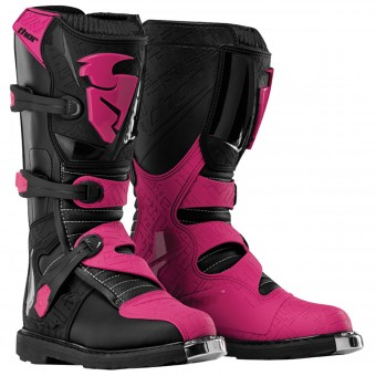 Bottes Cross Thor Blitz Black Magenta Woman