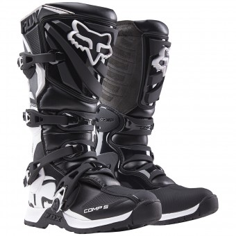 Bottes Cross FOX Comp 5 Black White Womens (018)