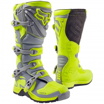 Bottes Cross FOX Comp 5 Yellow Grey (063)