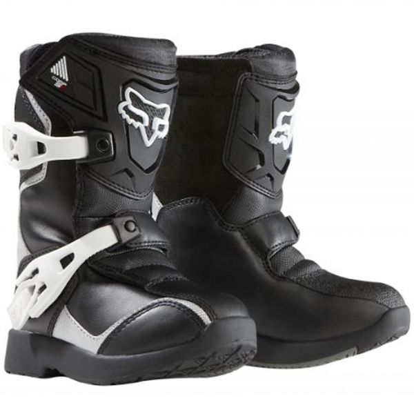 Bottes Cross FOX Comp 5K Black Silver (464)