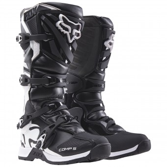 Bottes Cross FOX Comp 5Y Black Enfant 001