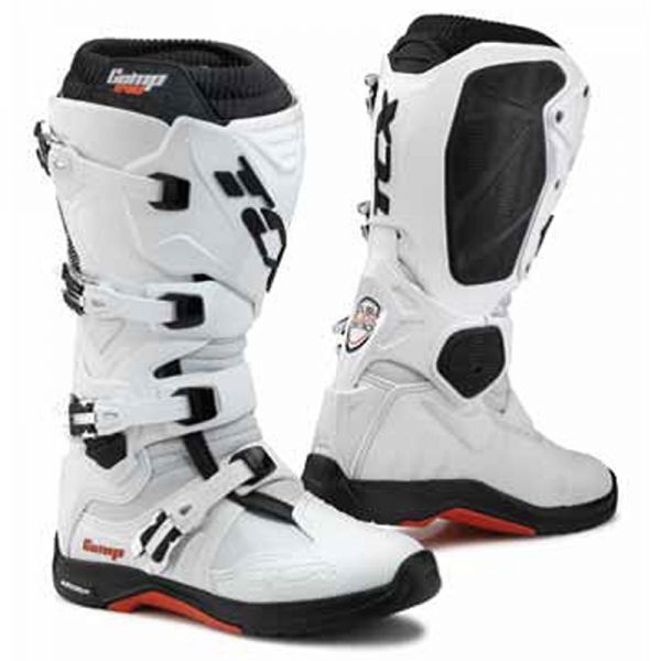 Bottes Cross TCX Comp Evo Michelin White