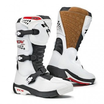 Bottes Cross TCX Comp Kid Blanc