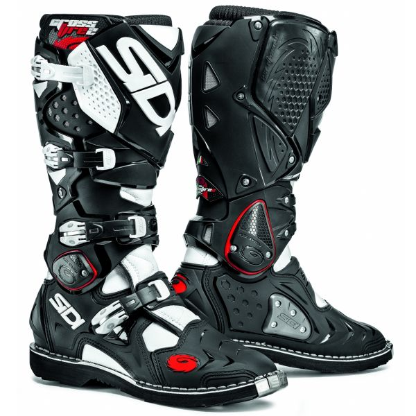 Bottes Cross SIDI Crossfire 2 Black White
