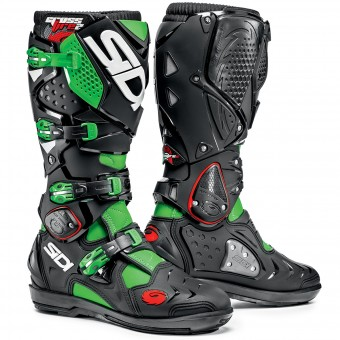 Bottes Cross SIDI Crossfire 2 SRS Green Black