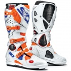 Bottes Cross SIDI Crossfire 2 SRS Orange Fluo White Blue