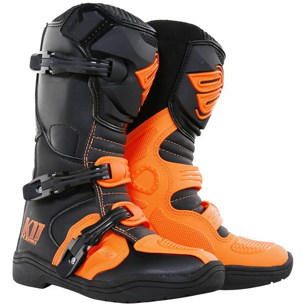 Bottes Cross SHOT K11 Neon Orange Enfant