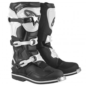 Bottes Cross Alpinestars Tech 1 Black White