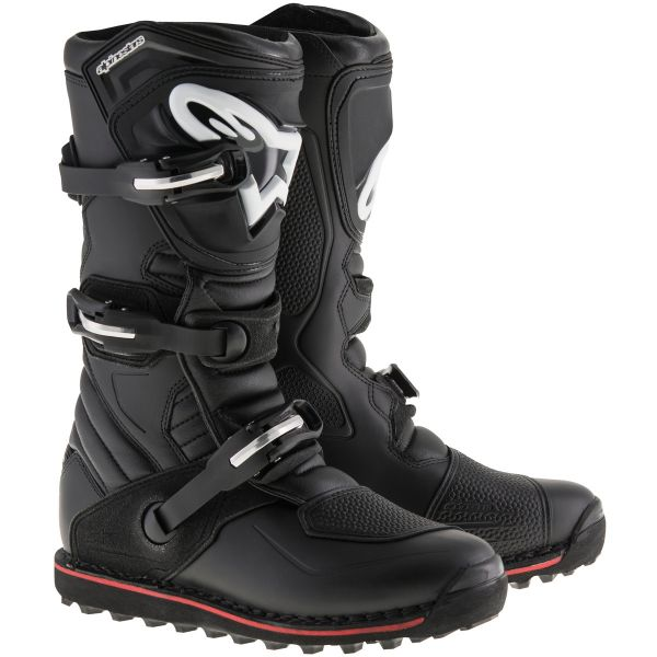 Bottes Cross Alpinestars Tech-T Red Yellow Fluo
