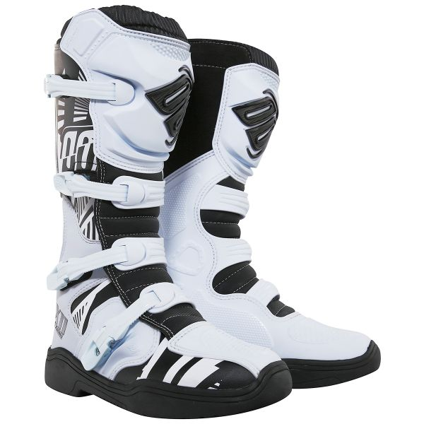 Bottes Cross SHOT X11 Motif White