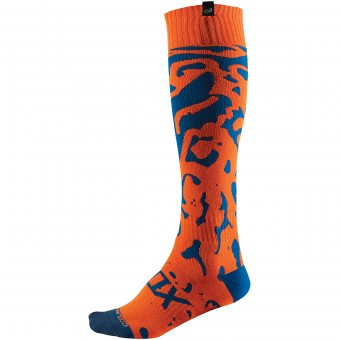 Chaussettes Cross FOX Coolmax Cauz Thin Orange