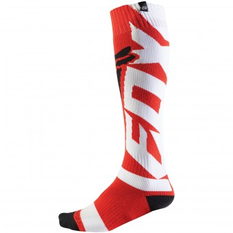 Chaussettes Cross FOX Coolmax Shiv Thick Red