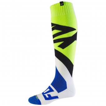 Chaussettes Cross FOX Coolmax Thick Creo White Yellow 214