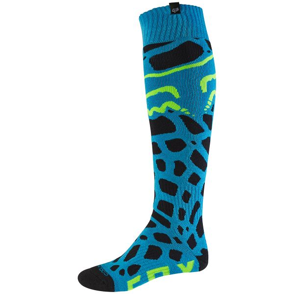 Chaussettes Cross FOX Coolmax Thin Grav Blue 002