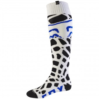 Chaussettes Cross FOX Coolmax Thin Grav White 008