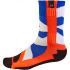 Chaussettes Cross FOX Creo Socks Orange Enfant 009