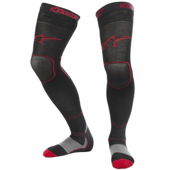 Chaussettes Cross Alpinestars Long Mx Socks Black Red