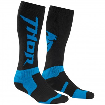 Chaussettes Cross Thor MX Socks Blue Enfant