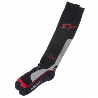 Chaussettes Cross Alpinestars Pro Coolmax Socks Red