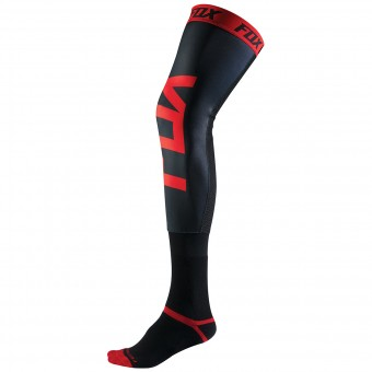 Chaussettes Cross FOX Proforma Knee Brace Black Red