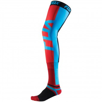 Chaussettes Cross FOX Proforma Knee Brace Blue Red