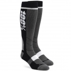 Chaussettes Cross 100% Socks Hi Side Grey Black