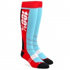 Chaussettes Cross 100% Socks Hi Side Red Blue