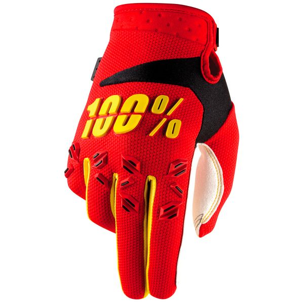 Gants Cross 100% Airmatic Red