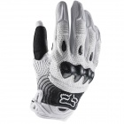Gants Cross FOX Bomber White Black