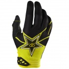 Gants Cross FOX Dirtpaw Rockstar Black Yellow Enfant