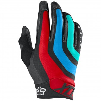Gants Cross FOX Airline Seca Grey Red 037
