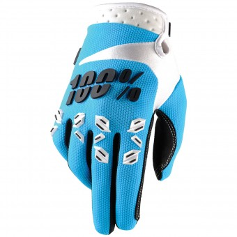 Gants Cross 100% Airmatic Blue