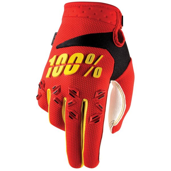 Gants Cross 100% Airmatic Red Enfant