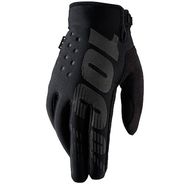 Gants Cross 100% Brisker Black