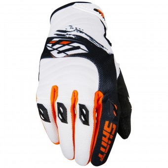 Gants Cross SHOT Contact Fast Orange Black