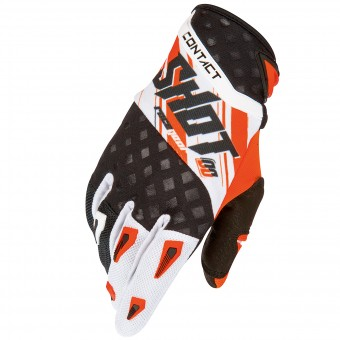 Gants Cross SHOT Contact Genesis Orange Black