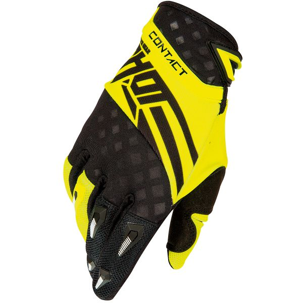 Gants Cross SHOT Contact Raceway Yellow Neon